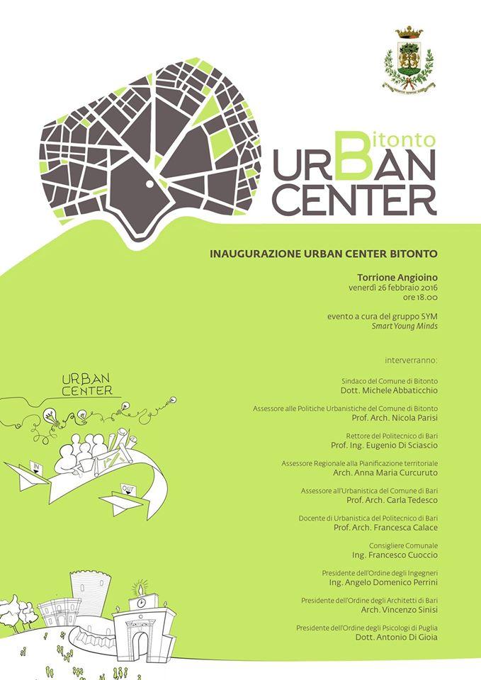 Inaugurazione dell'Urban Center Bitonto