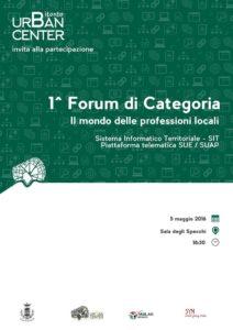1 Forum di Categoria - Il mondo delle professioni locali